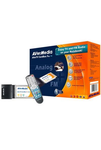 Avermedıa Cardbus Pro Analog Fm Radyo Pcmcı Notebook Tv Kartı