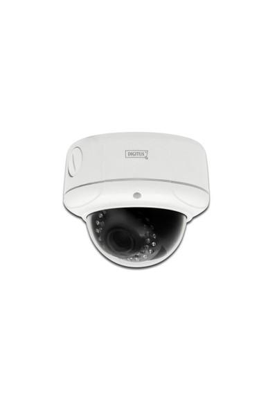 Digitus Plug & View Optidome Pro, Wireless 11N, 1920 X 1080 Piksel, 2 Megapiksel, Gece & Gündüz Dış Mekan Dome Tipi Ip Kamera, Poe, Ik10 Vandal Korumalı, Infrared Özellik, H.264, Dahili 2Gb Ha
