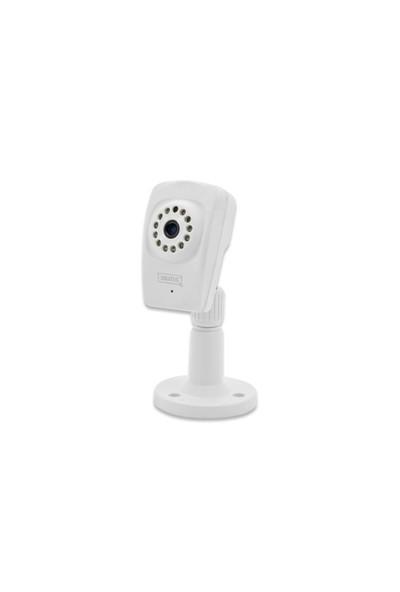 Digitus Plug & View Optiview Pro, Wireless 11N, 1280 X 720 Piksel, 1 Megapiksel, H.264, Gece & Gündüz İç Mekan Mini Ip Kamera, Infrared Özellik, Sd Kart Takılabilir, Çift Yönlü Ses İletimi, D