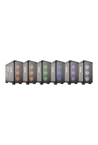 Corsair 460X RGB Crystal Series Bilgisayar Kasası CC-9011101-WW