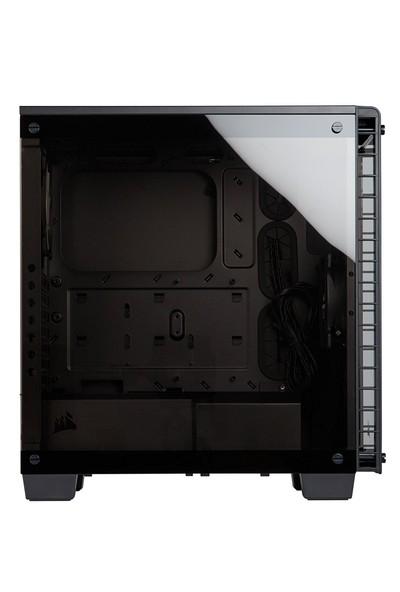 Corsair Crystal Serıes 460X Kompakt Siyah ATX Kasa CC-9011099-WW