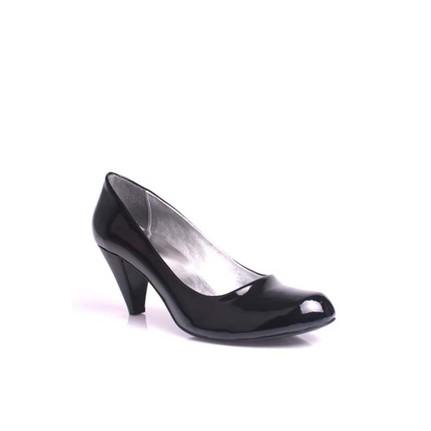 Loggalin 580720 020 Kadın Siyah Rugan Ayakkabı - 44