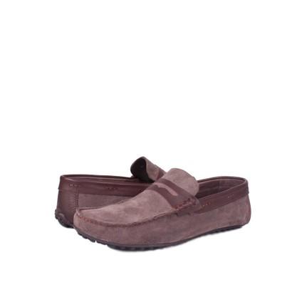 Kalahari 350003 039 008 Erkek Siyah Süet Yazlık Ayakkabı
