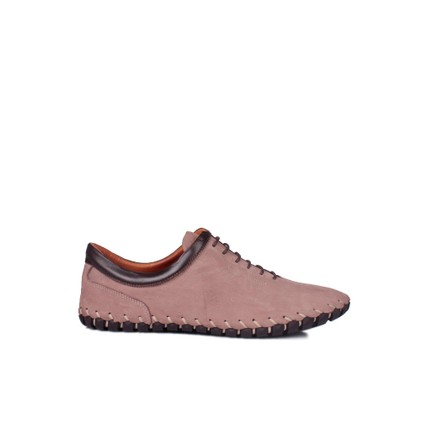 Erkan Kaban 350103 045 325 Erkek Bej Havlu Nubuk Yazlık Ayakkabı