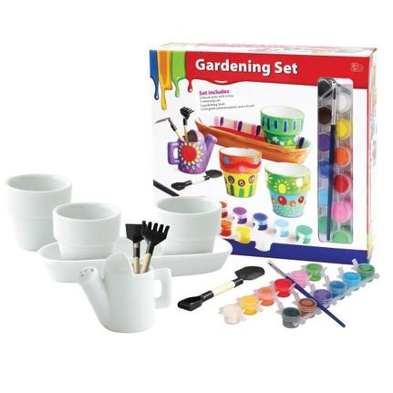 Vardem Saksılı Bahçe Boyama Oyunu 12 Renk Boya Fiyatı