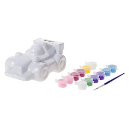 Bu Bu Porselen Boyama Spor Araba Kumbara Bubu Pb0013 Fiyatı