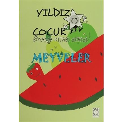 Yildiz Cocuk Boyama Kitabi Serisi Meyveler Fiyati
