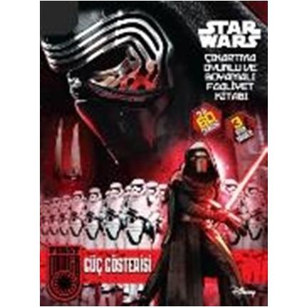Disney Star Wars Cikartma Oyunlu Ve Boyama Faaliyet Kitabi Fiyati