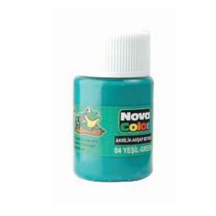 Nova Akrilik Boya Yeşil şişe Nc 172 Fiyatı Taksit Seçenekleri