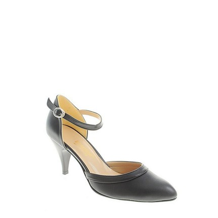 Despina Vandi TNC 713-1  Siyah Kadın Abiye Ayakkabı