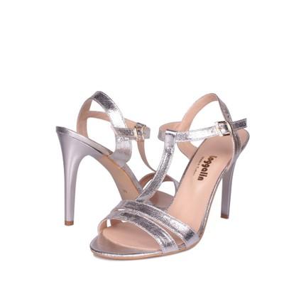 Loggalin 520004 031 671 Gümüş Kadın Sandalet