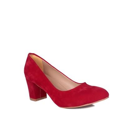 Loggalin 580710 031 527 Kırmızı Kadın Abiye Ayakkabı