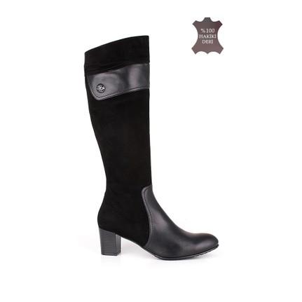 Romani 1116 022 025 Siyah Kadın  Çizme