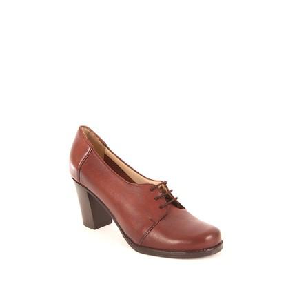 Gön 24287 Taba Topuklu Kadın Ayakkabı
