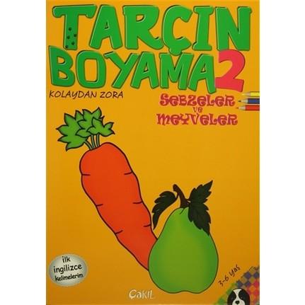 Tarcin Boyama 2 Sebzeler Ve Meyveler Fiyati Taksit Secenekleri