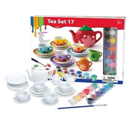 Vardem 17 Parça çay Seti Boyama Oyunu 1 Renk Boya Fiyatı
