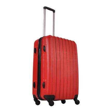 46752e4ef247e Ground Orta Boy Valiz 4 Tekerlekli Bavul Kırmızı 10522 Fiyatı