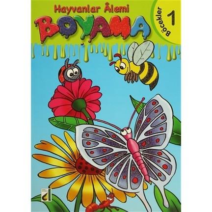 Hayvanlar Alemi Boyama Dizisi 8 Kitap Takim Fiyati