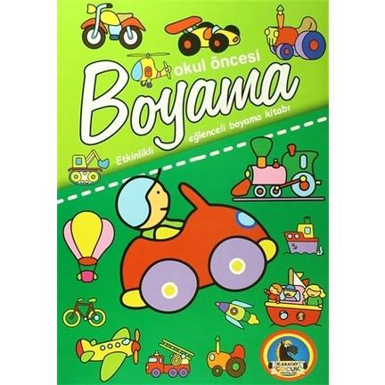 Okul Oncesi Boyama Etkinlikli Eglenceli Dev Boyama Kitabi Fiyati
