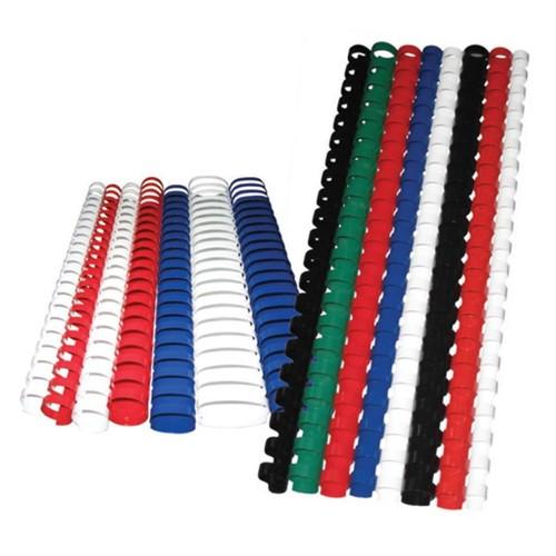 Sistem Spiral 16 mm Plastik Beyaz 100 lü Cilt Spirali