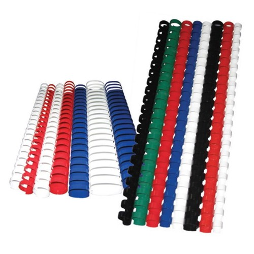 Sistem Spiral 32 mm Plastik Beyaz 50 lü Cilt Spirali