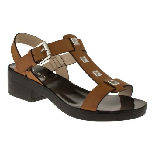 Yees 337 Bantli Taba Kadın Sandalet
