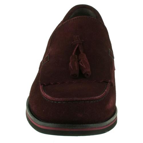 Fosco 6080 Puskul Toka Kalsik Bordo Erkek Ayakkabı