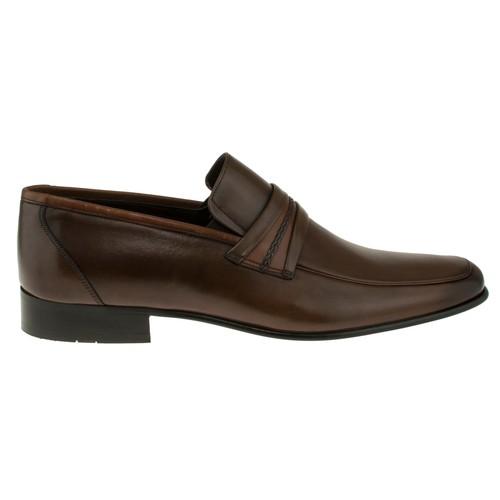 Fosco 6507 Orgu Bant Klasik Taba Erkek Ayakkabı