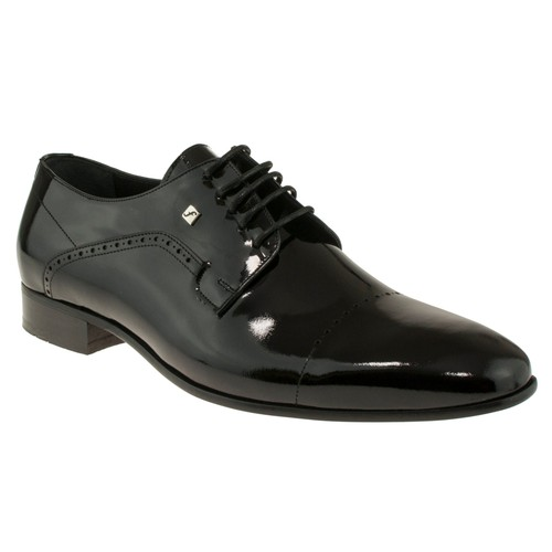 Fosco 6514 Bağlı Klasik Siyah Erkek Ayakkabı