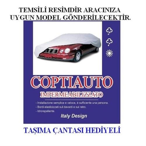 Coptiauto Özel Üretim Samand Lx Uyumlu Ultra Lüx Oto Branda Müflonlu