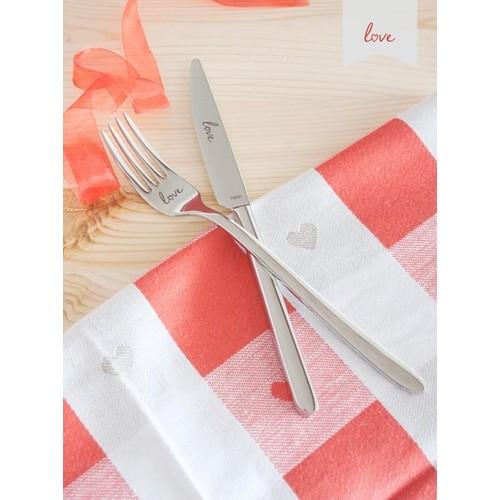 Narin Plaides Love 18 Parça Çatal Bıçak Seti