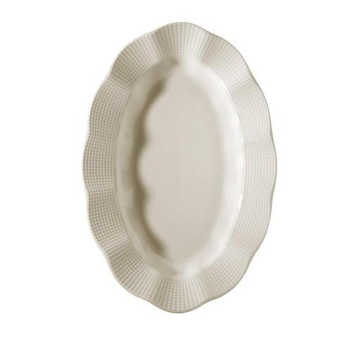 Kütahya Porselen Kütahya Mılena 23 Cm Kayık Sade