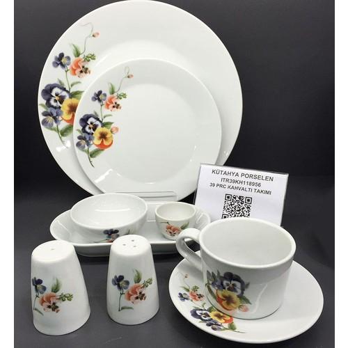 Kütahya Porselen Itır 39 Parça 8956 Kahvaltı Takımı