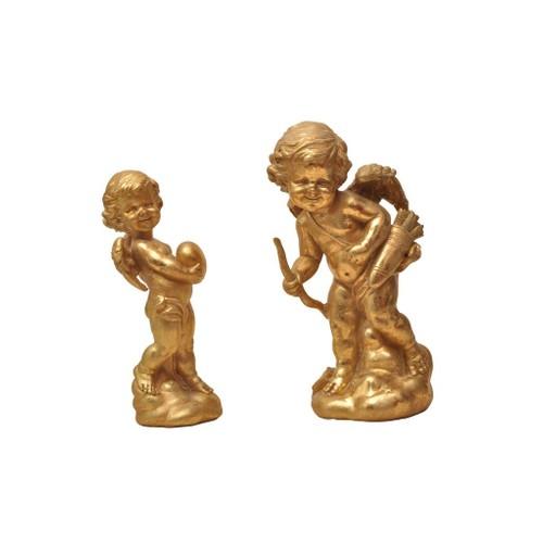 Cemile Altın İkili Melek Yük:20 cm Yük:22 cm