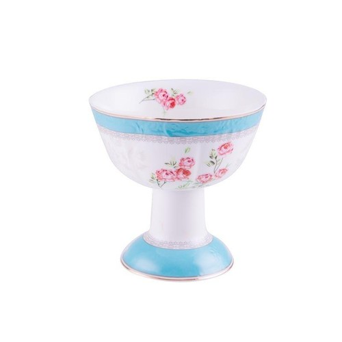 Biev 6 kişilik Blue Passion Porselen Dondurmalık