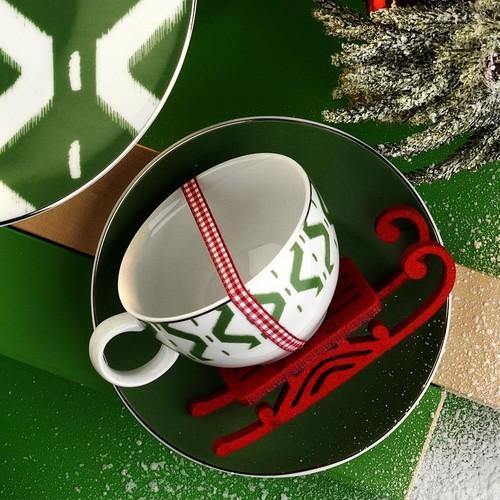 Kütahya Porselen Çay Fincan Takımı 68803 6 Kişilik