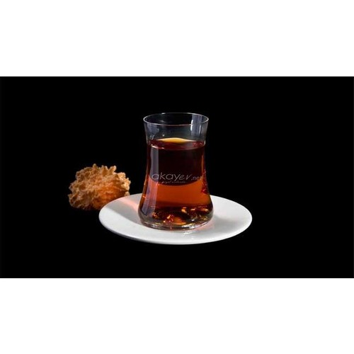 Koleksiyon Dervish Çay Seti Beyaz 6 Lı