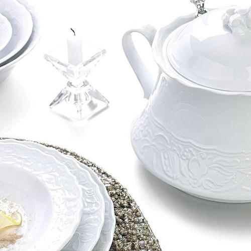 Kütahya Porselen Mıtterteıch Helen 83 Parça Yemek Takımı