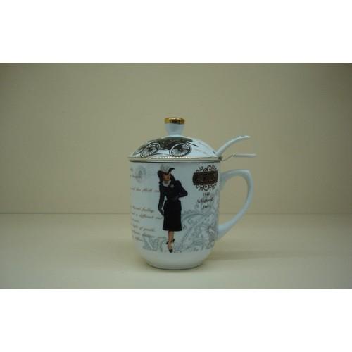 Ancel Porselen Kupa 6899
