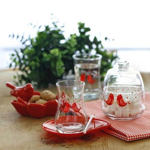 Lav Serenat Çay Seti 6 lı