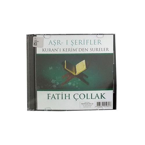 NTP Fattih Çollak Aşr-I Şerfiler Kuran'ı Kerimden Sureler Audio CD