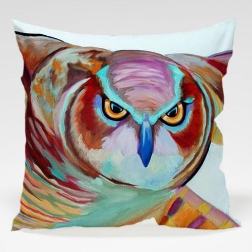 Dekorjinal Baykuş Yastık Kılıfı OWL052