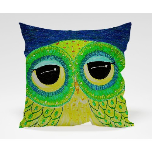 Dekorjinal Baykuş Yastık Kılıfı OWL026