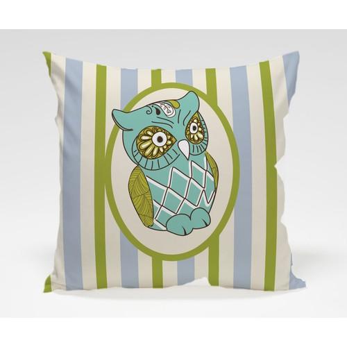 Dekorjinal Baykuş Yastık Kılıfı OWL058