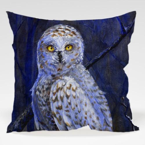 Dekorjinal Baykuş Yastık Kılıfı OWL050