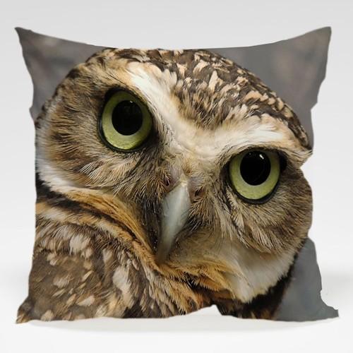Dekorjinal Baykuş Yastık Kılıfı OWL043