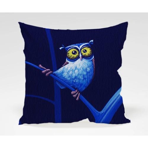 Dekorjinal Baykuş Yastık Kılıfı OWL016