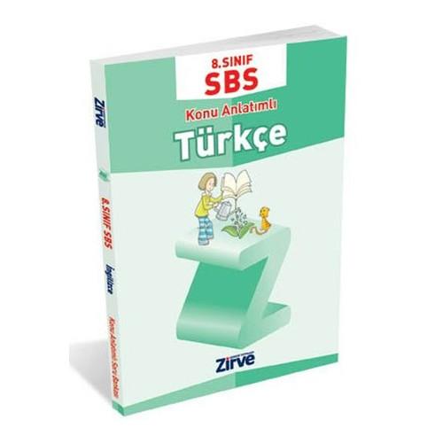 Zirve Yayınları 8. Sınıf Türkçe Konu Anlatımlı