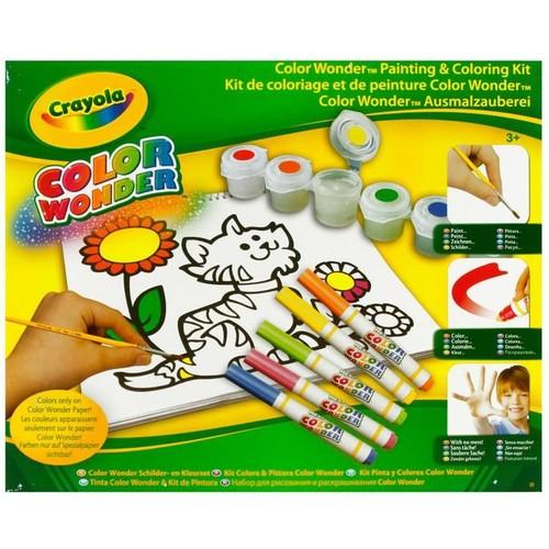 Crayola Renk Harikasi Çizim ve Resim Seti