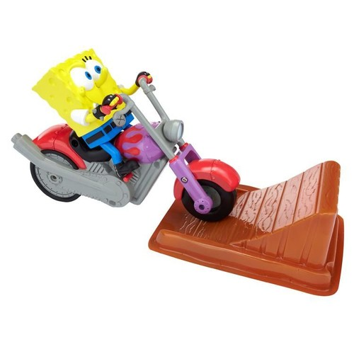 Sponge Bob Ve Motosiklet Oyun Seti